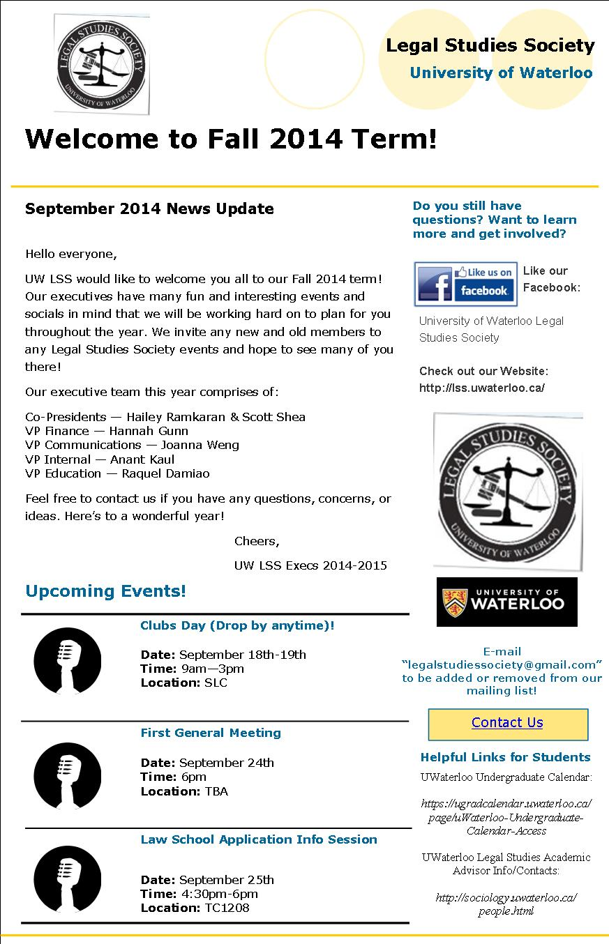 LSS Sept News